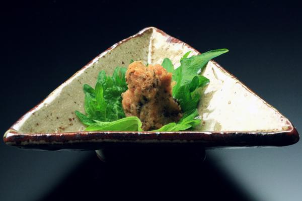 鮭のほっぺた味噌